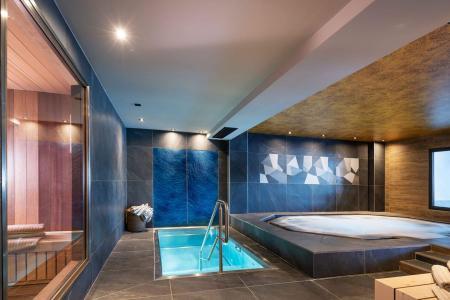 Rent in ski resort Résidence Amaya - Les Saisies - Jacuzzi