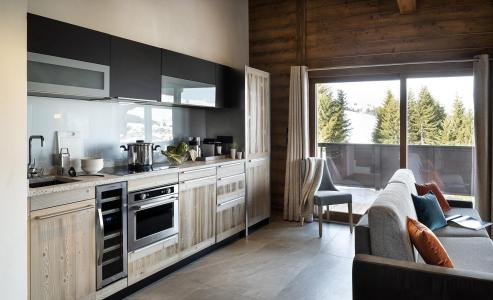 Rent in ski resort Résidence Amaya - Les Saisies - Kitchen