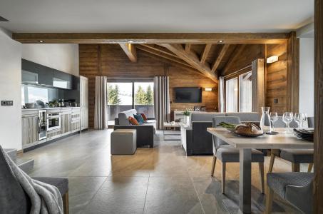 Rent in ski resort Résidence Amaya - Les Saisies - Living room