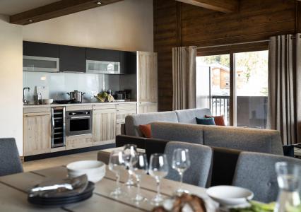 Rent in ski resort Résidence Amaya - Les Saisies - Open-plan kitchen