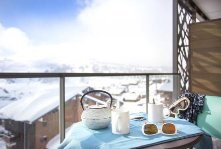 Rent in ski resort Résidence Club MMV Les Chalets des Cîmes - Les Saisies - Balcony