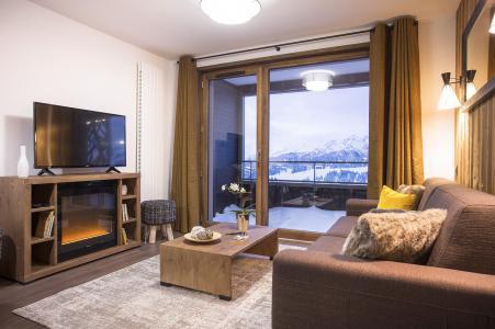 Rent in ski resort Résidence Club MMV Les Chalets des Cîmes - Les Saisies - Living area
