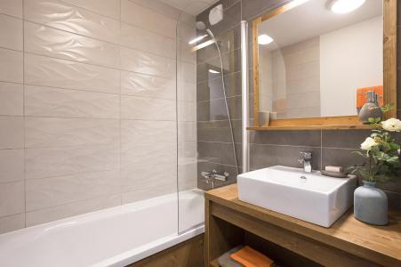 Location au ski Résidence Club MMV Les Chalets des Cîmes - Les Saisies - Salle de bains