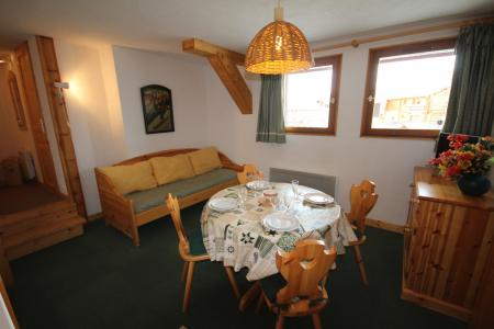 Rent in ski resort 2 room apartment cabin 4 people (CHAUDR) - Résidence Grand Mont 1 - Les Saisies - Table