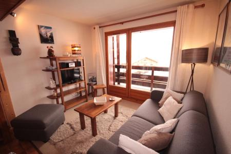 Rent in ski resort 2 room apartment 4 people (2207) - Résidence Grand Mont 2 - Les Saisies - Living room
