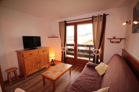 Rent in ski resort Studio sleeping corner 4 people (2209) - Résidence Grand Mont 2 - Les Saisies