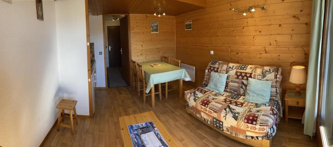 Rent in ski resort Studio sleeping corner 4 people (2211) - Résidence Grand Mont 2 - Les Saisies - Living room