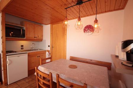 Rent in ski resort Studio sleeping corner 4 people (4416) - Résidence Grand Mont 4 - Les Saisies