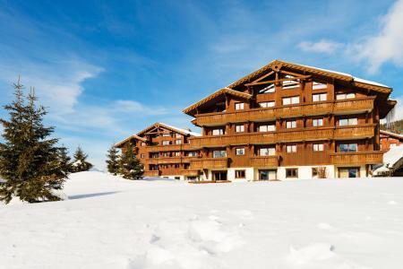 Location au ski Résidence Lagrange le Village des Lapons - Les Saisies - Extérieur hiver
