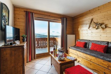 Location au ski Résidence Lagrange le Village des Lapons - Les Saisies - Banquette