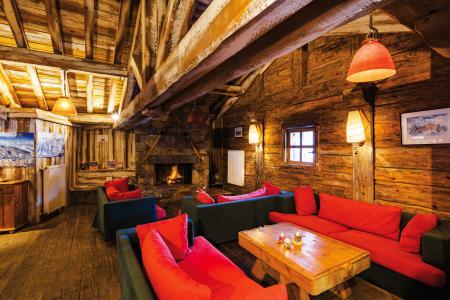 Alquiler al esquí Résidence Lagrange le Village des Lapons - Les Saisies - Chimenea