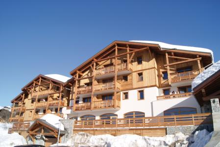 Location au ski Résidence Lagrange les Chalets d'Emeraude - Les Saisies - Extérieur hiver