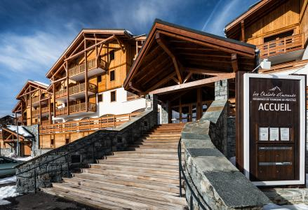 Location au ski Residence Lagrange Les Chalets D'emeraude - Les Saisies - Extérieur hiver