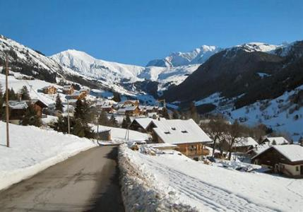 Location au ski Residence Lagrange Les Chalets Du Mont Blanc - Les Saisies - Extérieur hiver