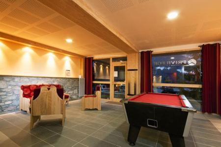 Location au ski Residence Lagrange Les Chalets Du Mont Blanc - Les Saisies - Jeux