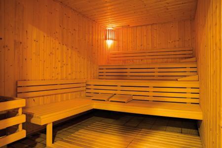 Rent in ski resort Résidence Lagrange les Chalets du Mont Blanc - Les Saisies - Sauna
