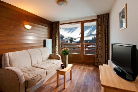 Location au ski Residence Lagrange Les Chalets Du Mont Blanc - Les Saisies - Séjour