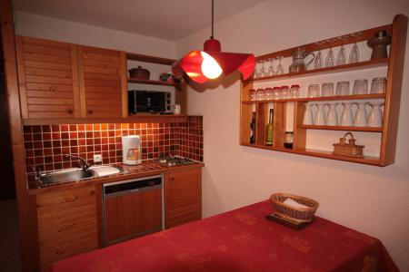Rent in ski resort Studio sleeping corner 3 people (007) - Résidence le Bouquetin - Les Saisies