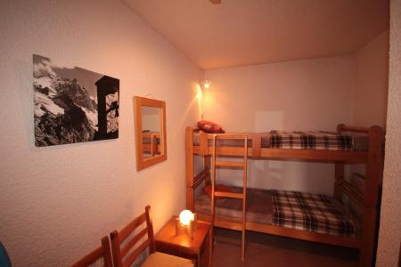 Rent in ski resort Studio cabin 4 people (006) - Résidence le Bouquetin - Les Saisies - Bunk beds