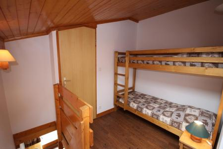 Rent in ski resort 3 room mezzanine apartment 8 people (020) - Résidence le Byblos - Les Saisies - Bunk beds