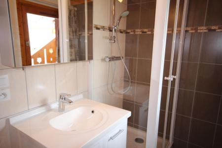 Rent in ski resort 3 room mezzanine apartment 8 people (020) - Résidence le Byblos - Les Saisies - Shower