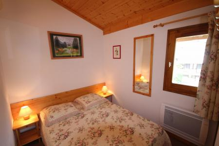 Rent in ski resort 2 room apartment sleeping corner 6 people (A18) - Résidence le Christiania A - Les Saisies - Double bed