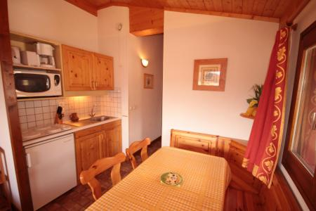 Rent in ski resort 2 room apartment sleeping corner 6 people (A18) - Résidence le Christiania A - Les Saisies - Kitchenette