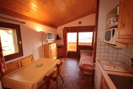 Rent in ski resort 2 room apartment sleeping corner 6 people (A18) - Résidence le Christiania A - Les Saisies - Living room