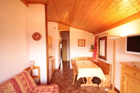 Rent in ski resort 2 room apartment sleeping corner 6 people (A18) - Résidence le Christiania A - Les Saisies - Table