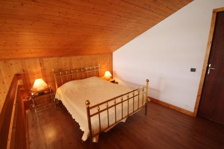 Rent in ski resort 2 room mezzanine apartment 7 people (016) - Résidence le Glacier B - Les Saisies - Double bed