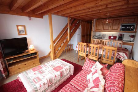 Rent in ski resort 3 room mezzanine apartment 8 people (013) - Résidence le Glacier B - Les Saisies - Apartment