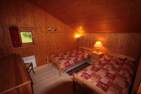 Rent in ski resort 3 room mezzanine apartment 8 people (013) - Résidence le Glacier B - Les Saisies - Single bed