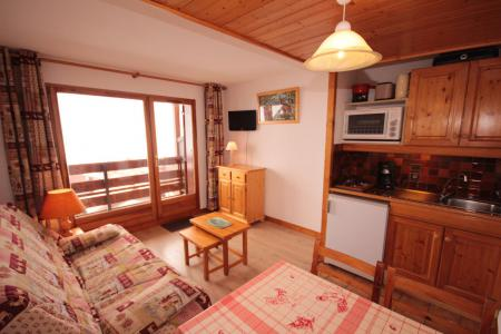 Rent in ski resort Studio sleeping corner 4 people (3310) - Résidence le Grand Mont 3 - Les Saisies