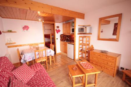 Rent in ski resort Studio sleeping corner 4 people (3303) - Résidence le Grand Mont 3 - Les Saisies