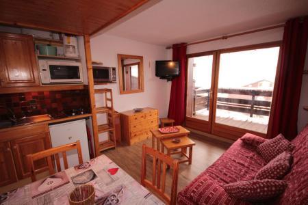 Rent in ski resort Studio sleeping corner 4 people (3303) - Résidence le Grand Mont 3 - Les Saisies