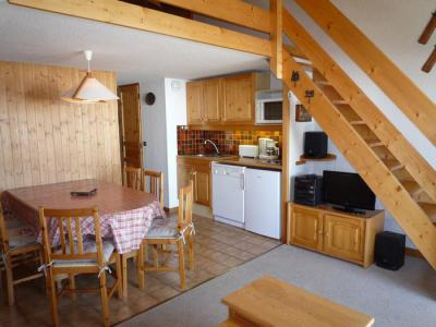 Rent in ski resort 3 room mezzanine apartment 6 people (3313 n'est plus commercialisé) - Résidence le Grand Mont 3 - Les Saisies