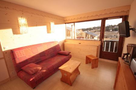 Rent in ski resort Studio sleeping corner 4 people (201 n'est plus commercialisé) - Résidence le Village 2 - Les Saisies