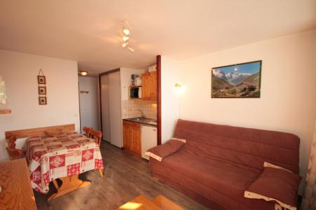 Rent in ski resort 2 room apartment 4 people (312) - Résidence le Village 3 - Les Saisies - Sofa-bed