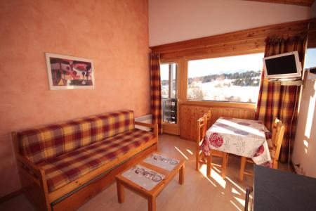 Rent in ski resort 2 room apartment cabin 5 people (533) - Résidence le Village 5 - Les Saisies