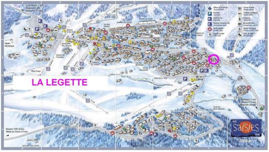 Rent in ski resort Résidence Légette - Les Saisies