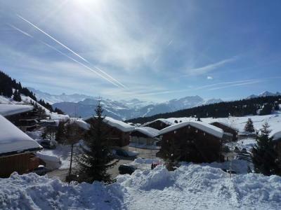 Rent in ski resort Studio sleeping corner 4 people (017) - Résidence les Cyclamens - Les Saisies - Winter outside