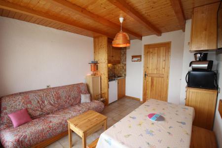 Rent in ski resort Studio sleeping corner 4 people (017) - Résidence les Cyclamens - Les Saisies
