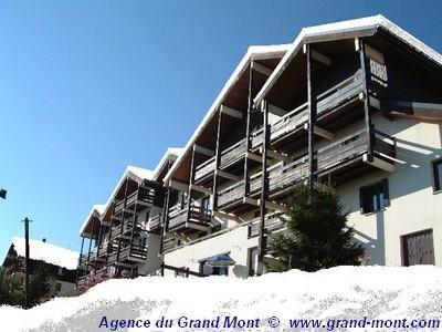 Rent in ski resort Résidence Lezette 1 - Les Saisies - Winter outside