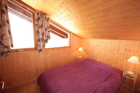 Rent in ski resort 3 room mezzanine apartment 8 people (129) - Résidence Mont Blanc A - Les Saisies - Double bed