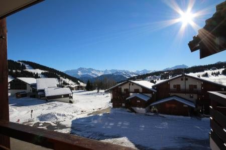 Rent in ski resort Studio sleeping corner 4 people (115) - Résidence Mont Blanc A - Les Saisies