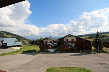 Rent in ski resort Studio sleeping corner 4 people (110) - Résidence Mont Blanc A - Les Saisies