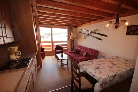 Rent in ski resort 3 room mezzanine apartment 8 people (129) - Résidence Mont Blanc A - Les Saisies