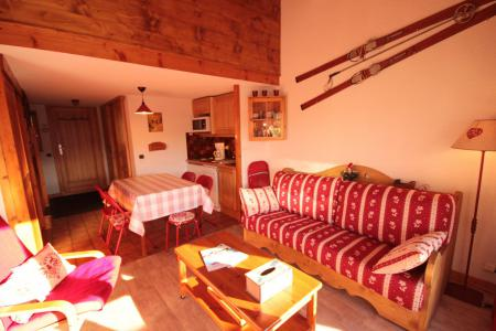 Rent in ski resort 2 room mezzanine apartment 6 people (155) - Résidence Mont Blanc A - Les Saisies