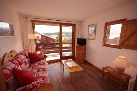 Rent in ski resort Studio sleeping corner 4 people (112 n'est plus commercialisé) - Résidence Mont Blanc A - Les Saisies