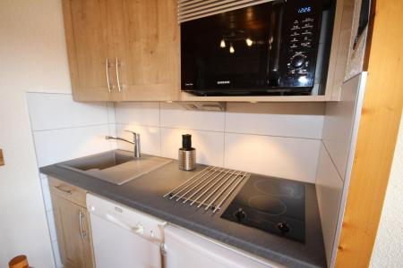 Rent in ski resort Studio sleeping corner 4 people (114) - Résidence Mont Blanc A - Les Saisies - Kitchenette